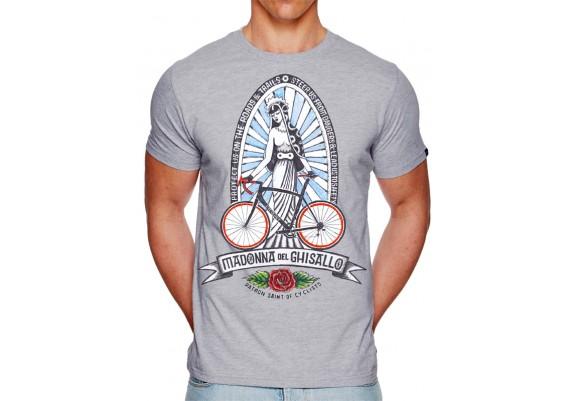 tee-shirt MADONNA DE GHISALLO - homme - gris
