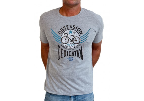 tee-shirt BIKE OBSESSION - homme - gris
