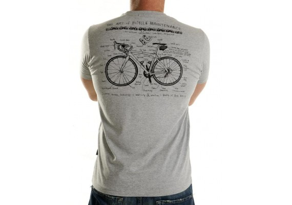 Tee-shirt ART OF BIKE MAINTENANCE - homme - gris