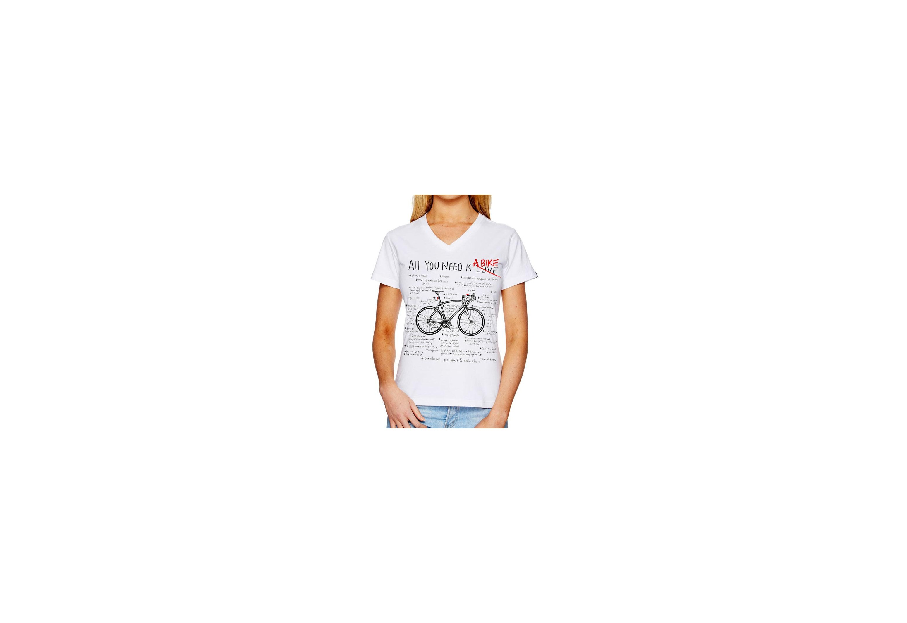 Tee-shirt ALL YOU NEED - Femme - blanc