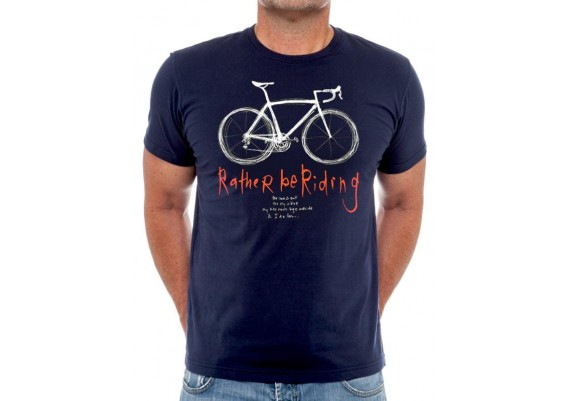 Tee-shirt RATHER BE RIDING - Homme - Navy