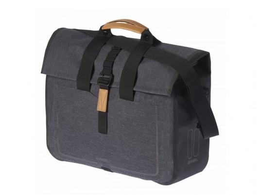 Sacoche shoppping Basil Urban Dry gris charcoal 20L