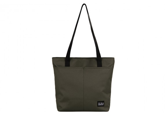 Sacoche Brompton Borough Tote bag S, Olive