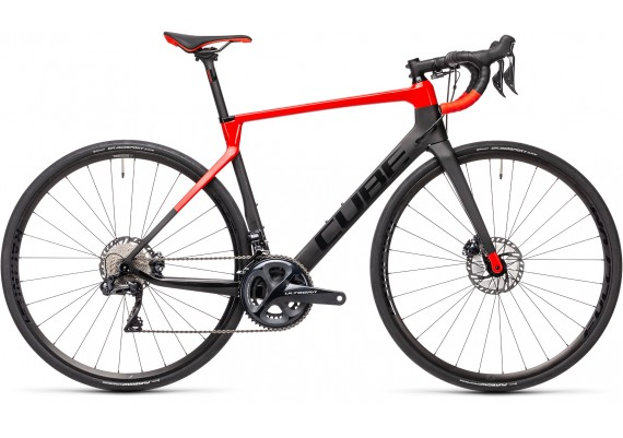 CUBE AGRE C62 SL carbon 'n' red 2021