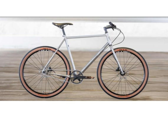 ALL CITY Super Professional single speed Silver
