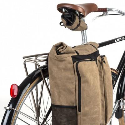 30766a4205 Le sac comprend une poche pour ordinateur et 2 poches extérieures pour  organiser vos rangement. La fixation se fait sur le vélo grace à 2  puissants velcros ...